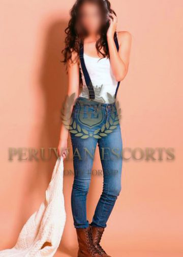 Inna, modelo peruana